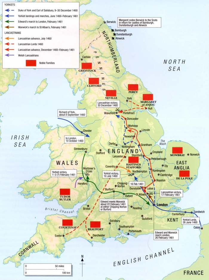 Британия в 1461 году