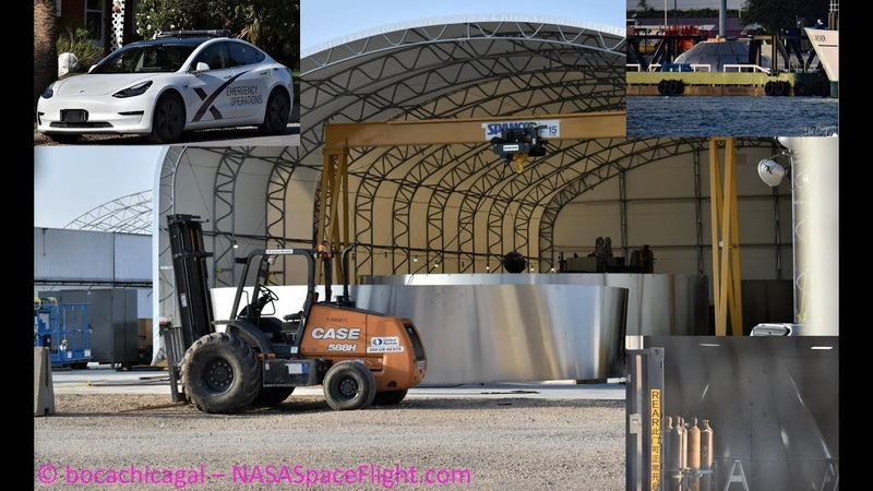 SpaceX Starship Mk3 - Site Overview, New Nose Cone, Cranes and Shipment from Florida