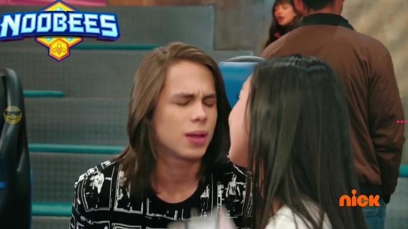 Нубы 2 Труно пытается поцеловать Нору 18 серия
