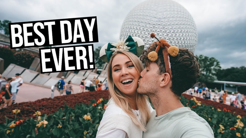 Celebrating our Wedding Anniversary | Park Hopping Disney Worlds Hollywood Studios Epcot