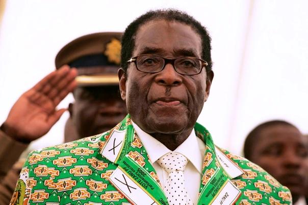 Президент Зимбабве Мугабе Роберт