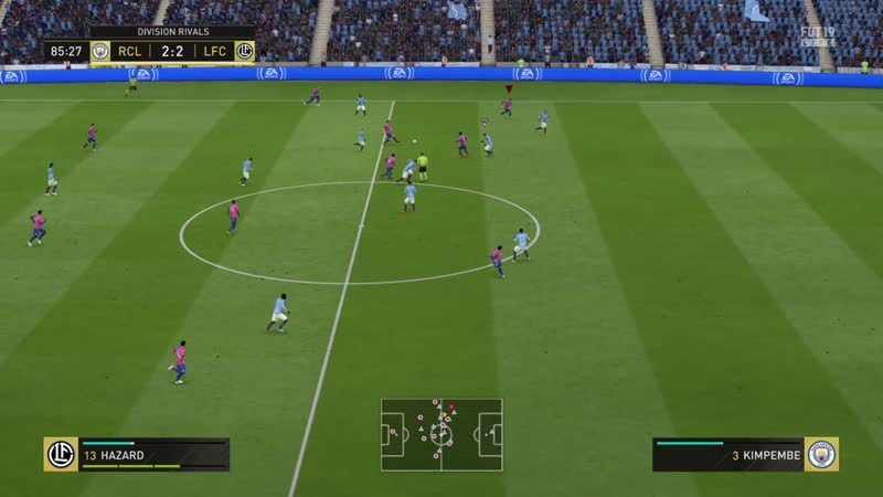 FIFA 19_Триллер на последних минутах игры в Онлайн Дивизионах!