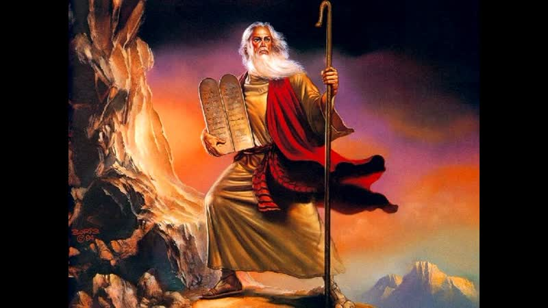 Библейские сказания Моисей The Bible Moses 1995 2 Серия