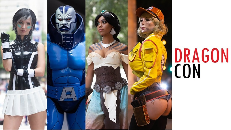 THIS IS DRAGONCON ATLANTA COMIC CON 2019 DRAGON CON BEST COSPLAY MUSIC VIDEO BEST COSTUMES ANIME CMV
