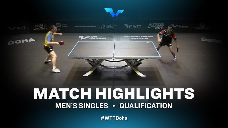 Micheal Tauber vs Zhmudenko Yaroslav | WTT Contender Doha 2021 | Mens Singles | QUAL Highlights