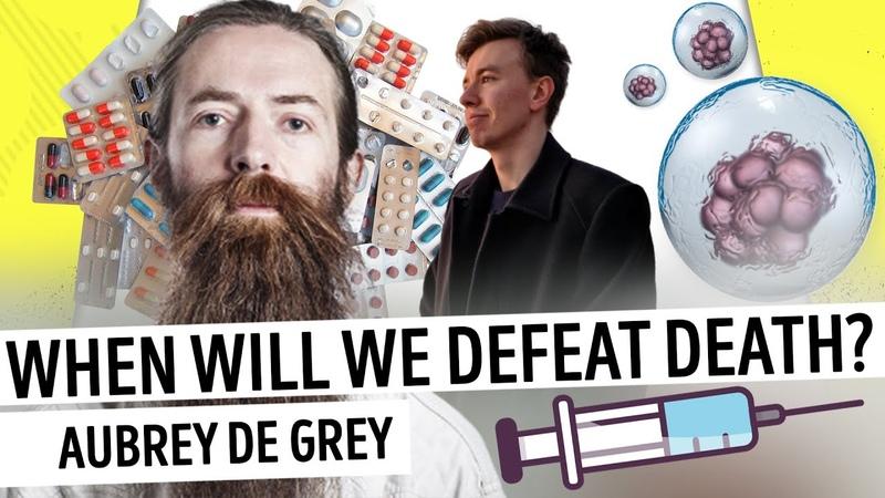 Aubrey De Grey on how to defeat aging Mustreader podcast