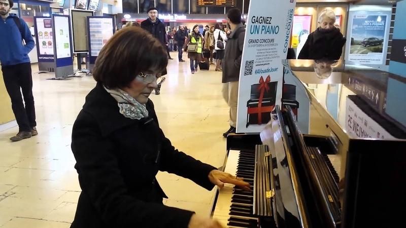 Chopin Nocturne Postume - Concours En Gare (Grenoble)