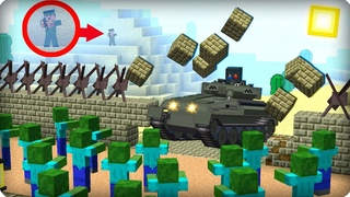 Всё пошло не по плану, КАПЕЦ! ЧАСТЬ 28 Зомби апокалипсис в майнкрафт! - (Minecraft - Сериал)