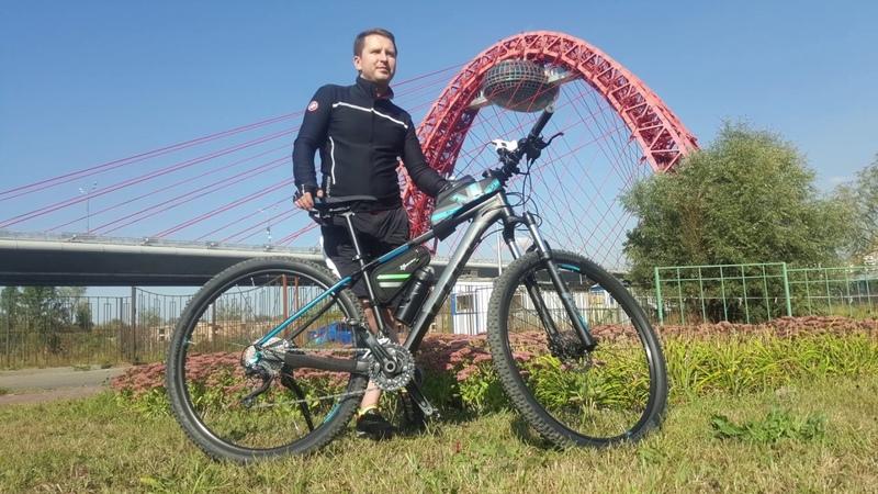 История Живописного моста. Велопрогулка. 29 сентября 2018
