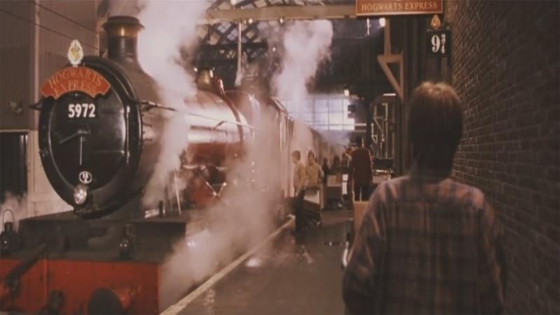 Платформа 9 3/4 - (Гарри Поттер и философский камень) - (Момент из фильма) 10
