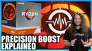 AMD Ryzen Precision Boost Overdrive AutoOC Benchmarks Explanation