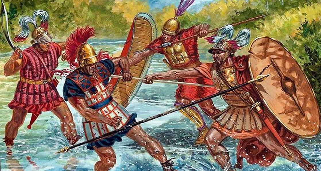 Бой римлян и этрусков