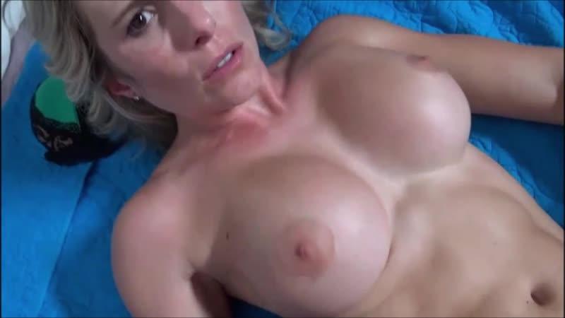 Cougar Big Tits Blowjob Pov