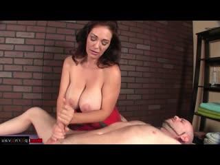 Charley chase [ masturbation &  big boobs &  big dick &  mature / jerking off a guy]