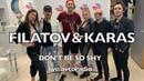 Filatov Karas - Don't Be So Shy (Барабанная версия / Live Avtoradio)