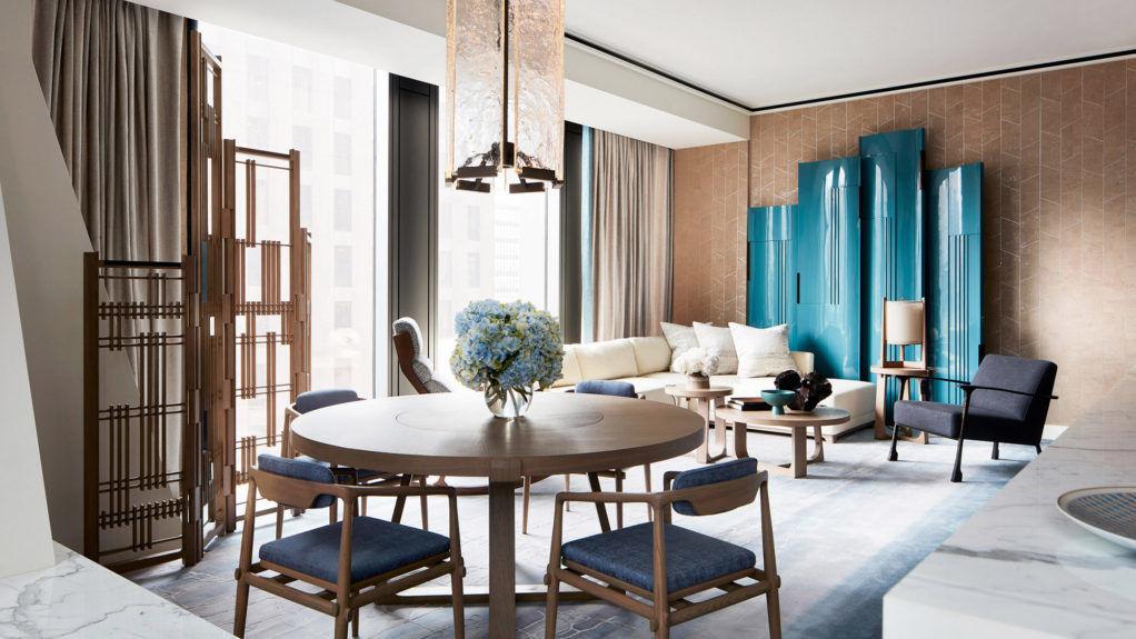 Интерьер квартиры в нью-йоркском небоскребе Жана Нувеля