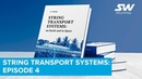 String Transport Systems: mechanics problems of high-speed transport, part 2