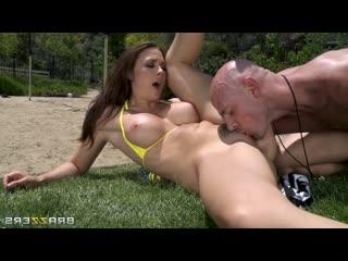 Chanel Preston in Hot and Sweaty Volleyballs, Anal, Big Tits, Brunette, BDSM, Hardcore, Teen, Milf, Domination, Blowjob, Gape