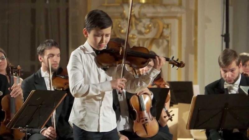 Daniel Lozakovich 12 years old Introduction and Rondo Capriccioso av Camille Saint Saëns