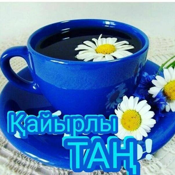Открытка на казахском языке кайырлы тан