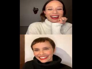 Live: Debora Falabella, Mariana Ximenes e Bianca Comparato (14/07/20)