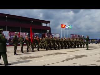 А ну-ка, девушки! женский батальон, Алабино. Russian Women Military Parade.