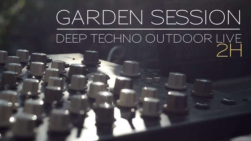 Garden session Deep Techno outdoor live DSI Tempest Vermona Perfourmer Octatrack Strymon