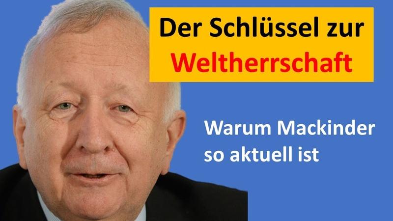 Willy Wimmer: Herzland-Theorie aktueller denn je