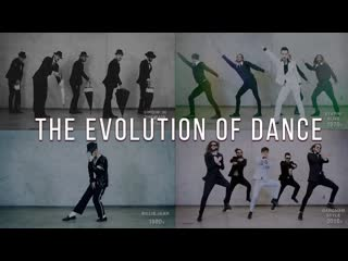 The Evolution of Dance - 1950 to 2019 - By Ricardo Walker`s Crew