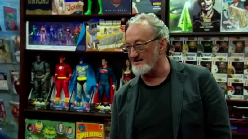 Robert Englund on Comic Book Men 2017