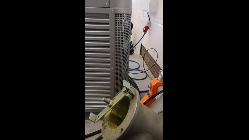 тонко дисперсный помол пигмента на аппарате вихревого слоя АВС сухой помол