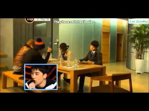BIGBANG - SECRET GARDEN drama parody [eng sub] full