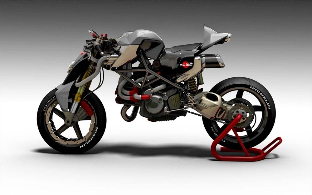 Паоло Тесио: Концепт Ducati Monster Braida