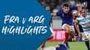HIGHLIGHTS France vs Argentina - Rugby World Cup 2019