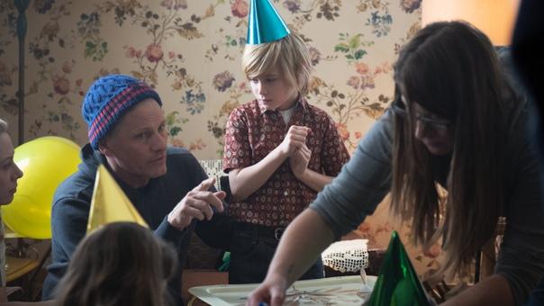 Вигго Мортенсен на съемках своего режиссерского дебюта под названием «Падение»