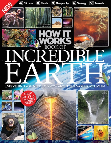 How It Works Book of Incredible Earth by Imagine Publishing UserUpload.Net