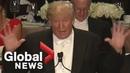 Donald Trump's FULL roasts of Hillary Clinton at Al Smith charity dinner