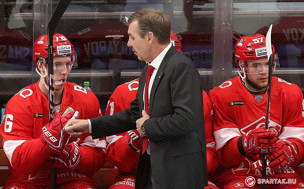 Олег Знарок: Два матча подряд играть трудно, но ребята выдержали