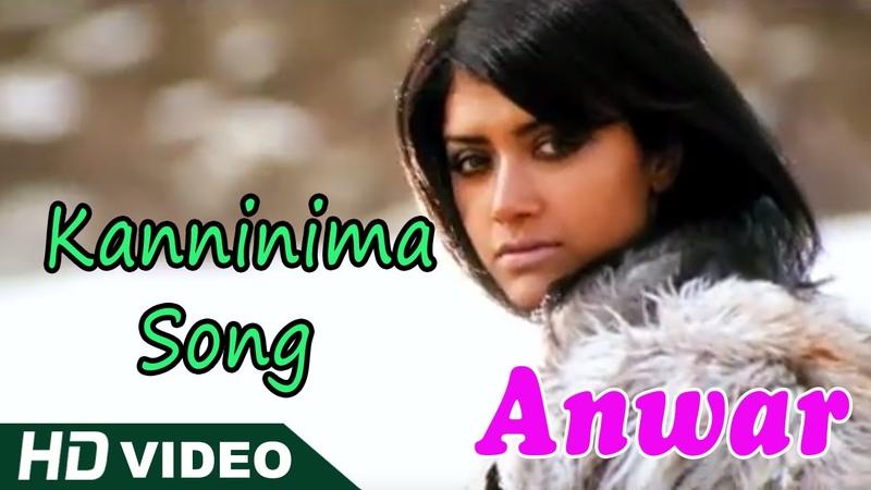 Anwar Malayalam Movie | Malayalam Movie | Kanninima Song | Malayalam Movie Song | 1080P HD