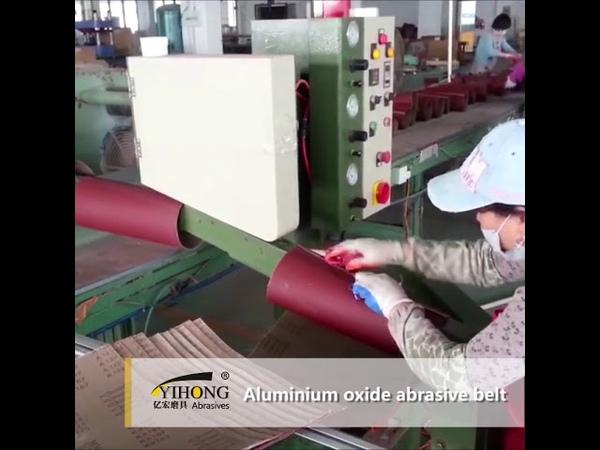 Yihong abrasives aluminium oxide abrasive belt