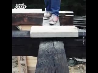 Классный дом построили своими руками -