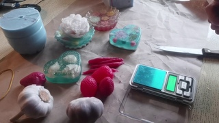 Мыловарение/ Изготовление форм для мыла  из силикона 2.