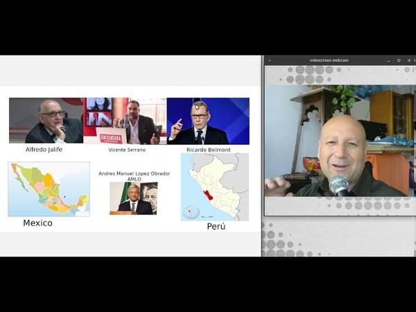 JALIFE y BELMONT juntos, Perú y Mexico unidos en la 4ta Gran Transformación
