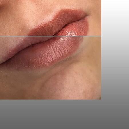 """Студия Красоты on Instagram: """"Выделить, и подчеркнуть красоту губ, сгладить асимметрию, и выразить чувственность 💖 Вам поможет перманентный макияж 💄 ⠀ Оттенок пигмента…"""""""
