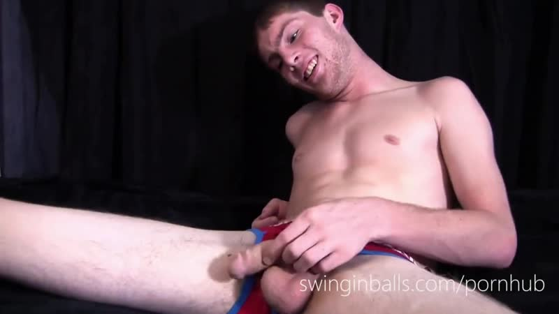 straight escort with big balls jerking off free gay video