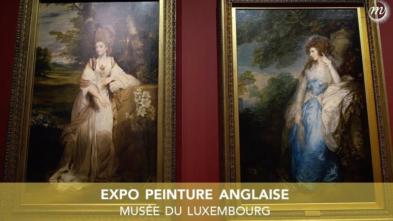 Peinture anglaise l'exposition