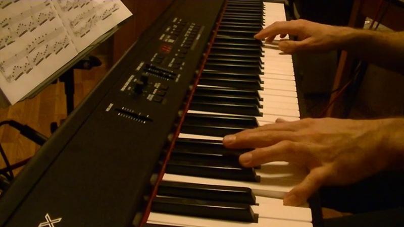 La petite fille de la mer - Vangelis. Вангелис для фортепиано