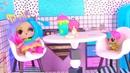 Куклы Лол Сюрприз! Завтрак с Плей До и урок рисования Lol мультик! Видео для детей Shopkins