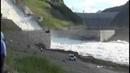 СШГЭС задействовала Обводной канал для сброса воды. Хакасия