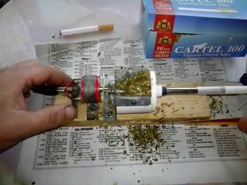 Машинка для набивки сигаретных гильз cigarette machine